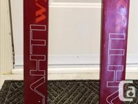 Women's Cross Country Skis. Brand: KARHU, 190cm, step