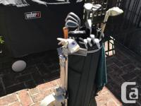 Great starter set of women's golf clubs complete with