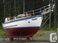 "Ta'Aroa is a Hanna ""Carol"" ketch built in 1952 in North"
