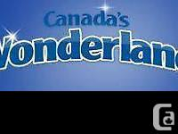 Wonderland Single day Tickets on sale.  Solitary day
