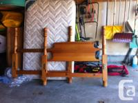 3/4 pine bed, exceptional condition. Can send out a lot