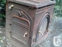 2 FREE Wood Burning Stoves Surface rust only Metal is