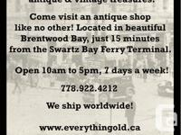 With 60,000+ antique & vintage finds at our museum