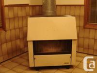 Canadian made Kresno wood stove/heater. Cast Iron body