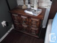 Wooden Bedside Tables, one of the items of a larger