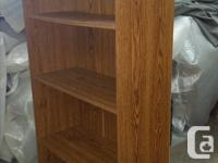 Wooden 4 shelf bookcase Great condition 2 of the