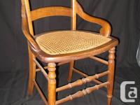 EASTLAKE CHAIR - $60 LADDER BACK CHAIR - $60 SOLID
