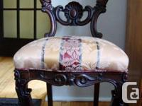 antique dining room or accent chair purchased on-line