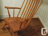 Mennonite made rocking chair.....very good condition