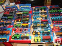 All NEW in pk Authentic Wooden Thomas Trains ($15 ea