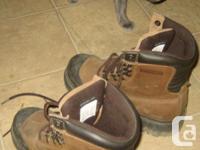 steel toed Dakota 529 work boots in good condition