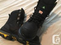 New work boots. Both sets Dakota Brand size 8.5 and 9.