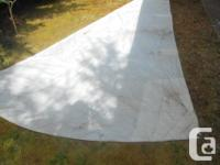 Made by Dair Sails, San Pedro, Cal. Nice shape with no