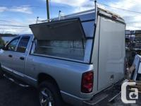 Silver Aluminum Canopy Workman style with windoors each