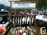 Incredible Salmon and Halibut fishing on Vancouver