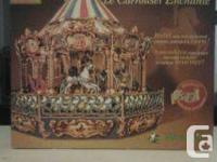 Built art collection enchanted carousel puzzle by