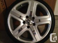 For Sales are OEM VW Touareg Atheos wheels, that I have
