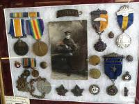 Nice collection of one soldiers belongings....World War