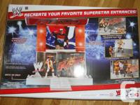 All new WWE entrance stage, heaps of fun. I got this as