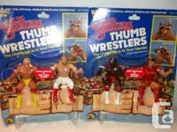 For Sale!   WWF LJN Figures Mint on card individual and