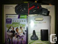 - the play and charge kit and also the Kinect Sports