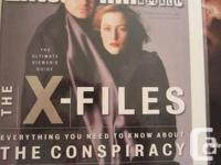 X-FILES COLLECTION FOR SALE - INCLUDES ENTERTAINMENT
