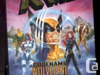 "X Males hardbound publication ""Codename Wolverine"" by"
