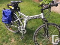 Pair of 24 volt x-treme folding e-bikes in very good