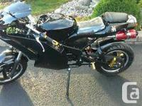 Like new 2014 X19 Venom Motorsports Super pocket bike