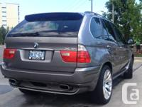 LOVELY 2005 BMW X5 (Body 2006) Silver, Sporting event
