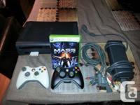Hi, I'm selling my Xbox 360. It has a 120 GB hard drive for sale  British Columbia