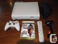 Gently used XBox 360. Newer model with HDMI. Comes with