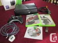 Xbox 360 impeccable  avec une manette sans fil