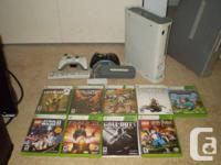 Xbox 360 60 gig hard drive 9 games Remote WIFI Adapter for sale  British Columbia