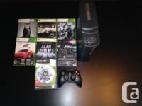 Bonjour, je vend mon Xbox 360 + HDD 120GB + 7 jeux + 1