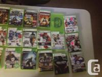xbox 360 slim 250 GB -Comes with 8 controllers, all