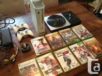 Selling my xbox 360 console with 2 wireless controllers
