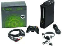 Xbox 360 Elite console includes: Hard Drive HDMI port a