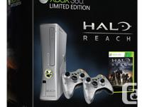 The Xbox was part of the Halo Reach bundle pack.