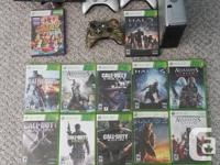 Hello there, I am selling my Xbox 360 bundled with 3