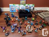 Xbox 360 package controllers games cords and all, for sale  British Columbia