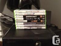 I have a XBOX 360 S 4GB Console for sale with all the for sale  Quebec