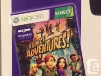 Gently used XBOX 360 with Kinect. Everything works and