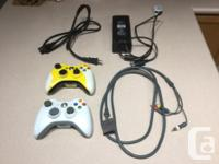 Xbox 360 with with 250GB drive. In great shape.