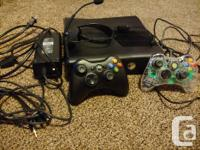 Black 250 GB Xbox 360 S Slim console in great