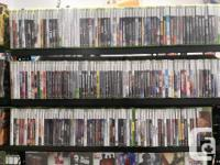 At Hang & Play Video Games, We have a Variety of all