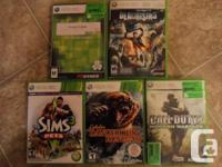 $10 for each game or $40 for all 5 games Halo 3 Dead