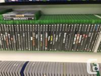 We currently have over 100 Xbox One games currently in