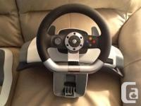 Xbox Wireless Racing Steering Wheel With Pedals and for sale  British Columbia