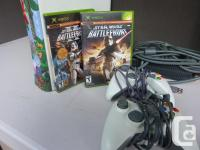 XBOX360 ----HDD 2 controllers HDMI cable 2 Star Wars